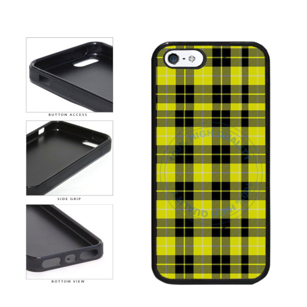 Yellow Lumberjack Buffalo Plaid TPU Rubber SILICONE Phone Case Back Cover  For Apple iPhone 5 5S ... aca94aa1c8581