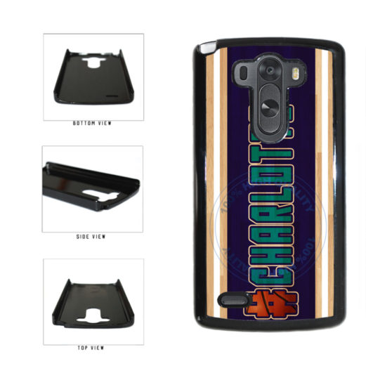 Basketball Team Hashtag Charlotte #Charlotte Plastic Phone Case Back Cover For LG G3 D855 includes BleuReign(TM) Cloth and Warranty Label