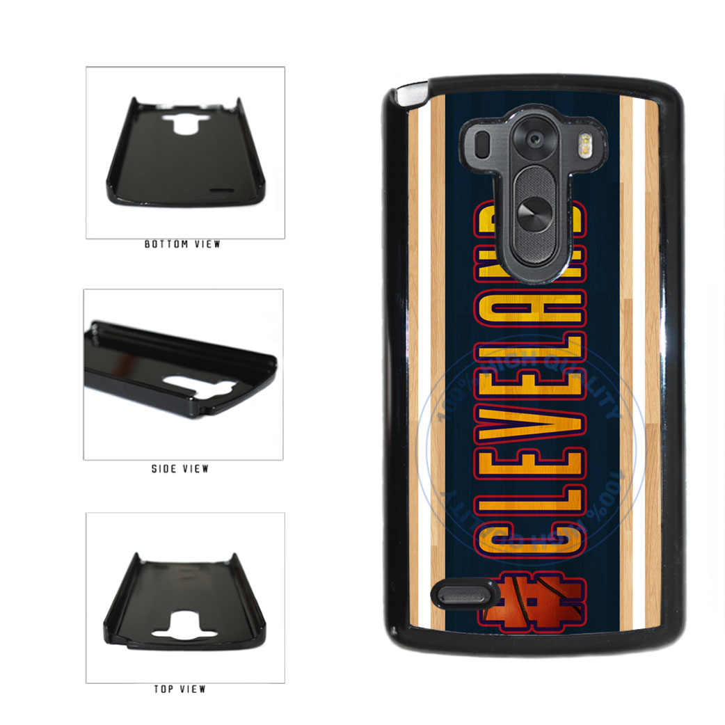 Basketball Team Hashtag Cleveland #Cleveland Plastic Phone Case Back Cover For LG G3 D855 includes BleuReign(TM) Cloth and Warranty Label