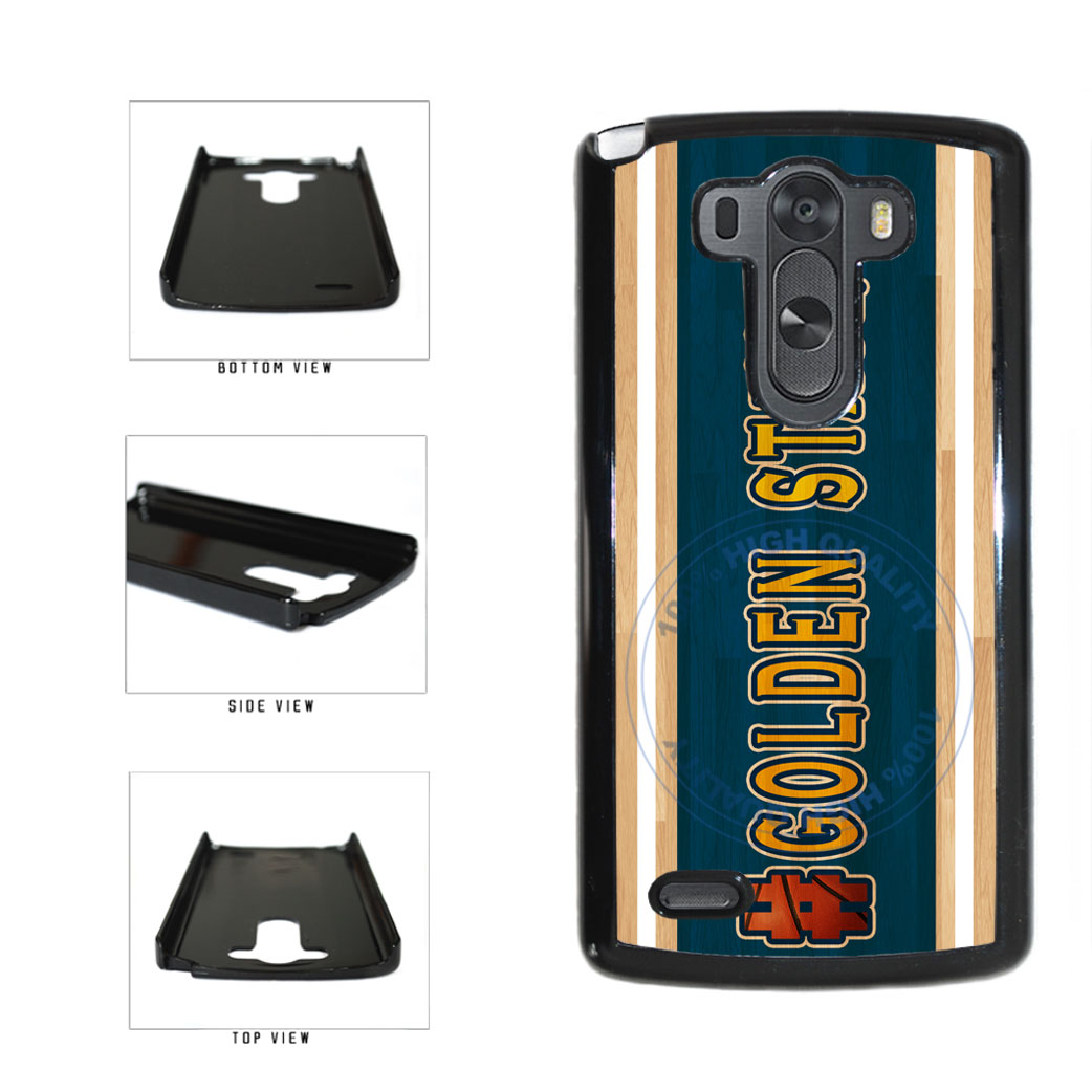 Basketball Team Hashtag Golden State #GoldenState Plastic Phone Case Back Cover For LG G3 D855 includes BleuReign(TM) Cloth and Warranty Label