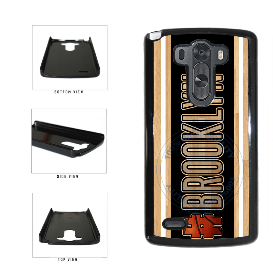 Basketball Team Hashtag Brooklyn #Brooklyn Plastic Phone Case Back Cover For LG G3 D855 includes BleuReign(TM) Cloth and Warranty Label