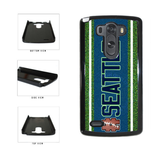 Hashtag Seattle #Seattle Football Team Plastic Phone Case Back Cover For LG G4 H815 includes BleuReign(TM) Cloth and Warranty Label