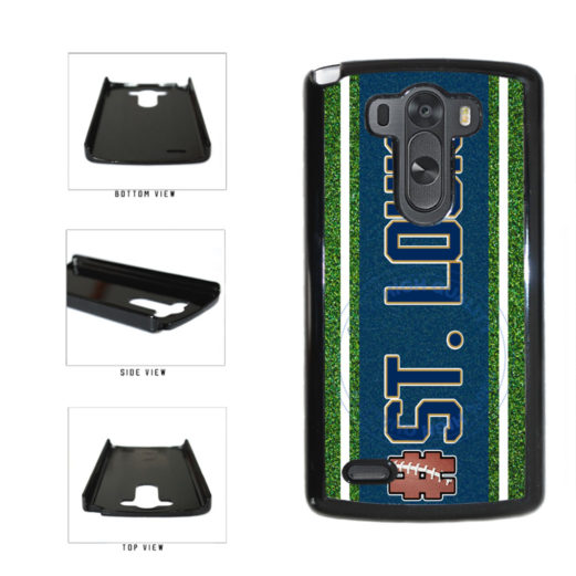 Hashtag St. Louis #StLouis Football Team Plastic Phone Case Back Cover For LG G4 H815 includes BleuReign(TM) Cloth and Warranty Label