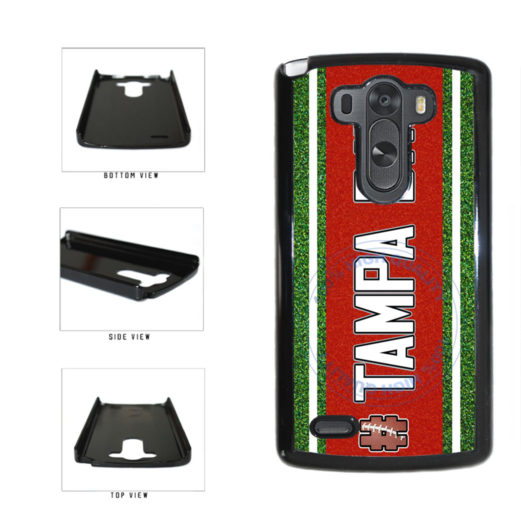 Hashtag Tampa Bay #TampaBay Football Team Plastic Phone Case Back Cover For LG G4 H815 includes BleuReign(TM) Cloth and Warranty Label