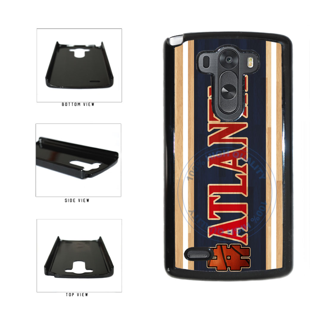 Basketball Team Hashtag Atlanta #Atlanta Plastic Phone Case Back Cover For LG G3 D855 includes BleuReign(TM) Cloth and Warranty Label