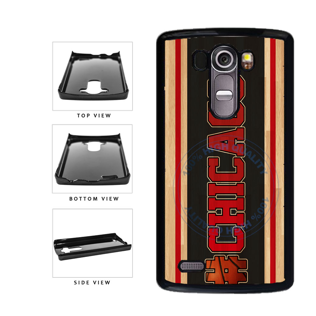 Basketball Team Hashtag Chicago #Chicago Plastic Phone Case Back Cover For LG G4 H815 includes BleuReign(TM) Cloth and Warranty Label