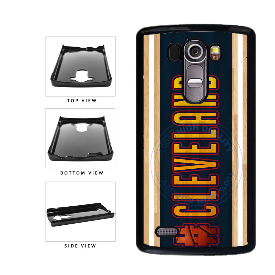 Basketball Team Hashtag Cleveland #Cleveland Plastic Phone Case Back Cover For LG G4 H815 includes BleuReign(TM) Cloth and Warranty Label