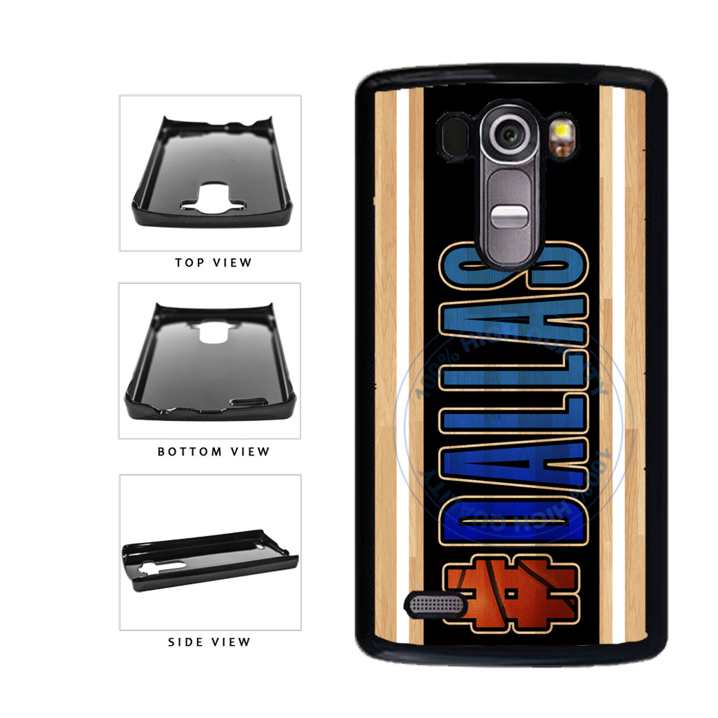 Basketball Team Hashtag Dallas #Dallas Plastic Phone Case Back Cover For LG G4 H815 includes BleuReign(TM) Cloth and Warranty Label