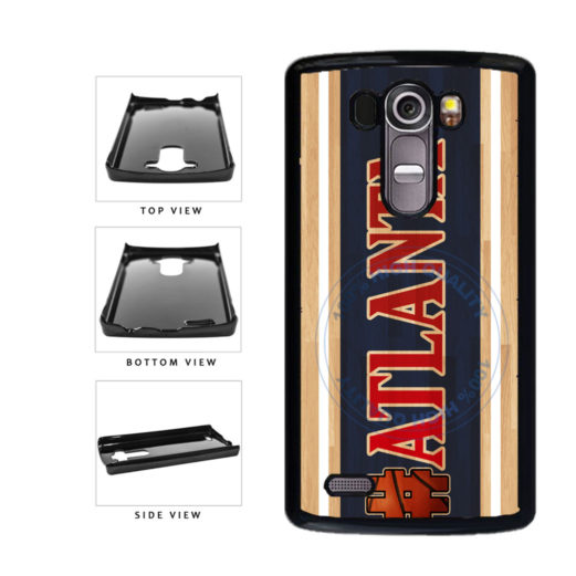 Basketball Team Hashtag Atlanta #Atlanta Plastic Phone Case Back Cover For LG G4 H815 includes BleuReign(TM) Cloth and Warranty Label