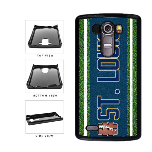 Hashtag St. Louis #StLouis Football Team Plastic Phone Case Back Cover For LG G3 D855 includes BleuReign(TM) Cloth and Warranty Label