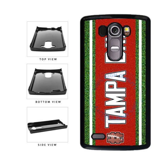 Hashtag Tampa Bay #TampaBay Football Team Plastic Phone Case Back Cover For LG G3 D855 includes BleuReign(TM) Cloth and Warranty Label