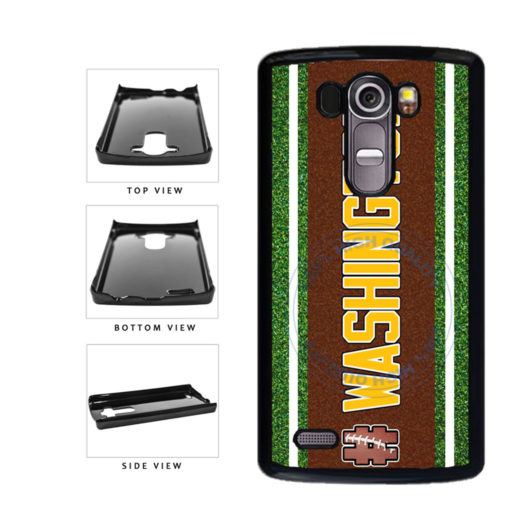 Hashtag Washington #Washington Football Team Plastic Phone Case Back Cover For LG G3 D855 includes BleuReign(TM) Cloth and Warranty Label