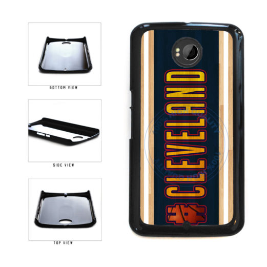 Basketball Team Hashtag Cleveland #Cleveland Plastic Phone Case Back Cover For Google Nexus 6 includes BleuReign(TM) Cloth and Warranty Label