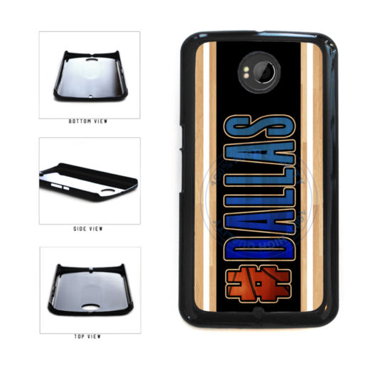 Basketball Team Hashtag Dallas #Dallas Plastic Phone Case Back Cover For Google Nexus 6 includes BleuReign(TM) Cloth and Warranty Label