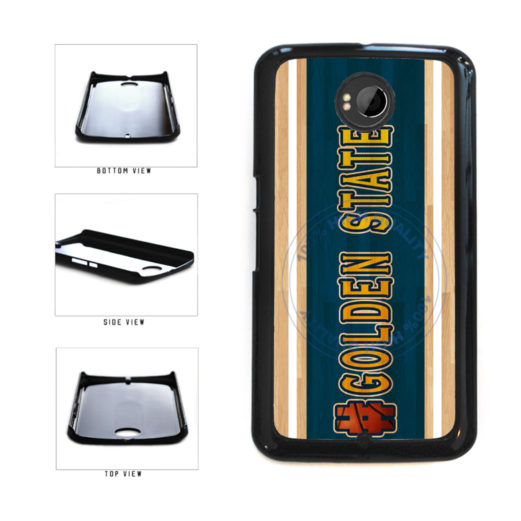 Basketball Team Hashtag Golden State #GoldenState Plastic Phone Case Back Cover For Google Nexus 6 includes BleuReign(TM) Cloth and Warranty Label