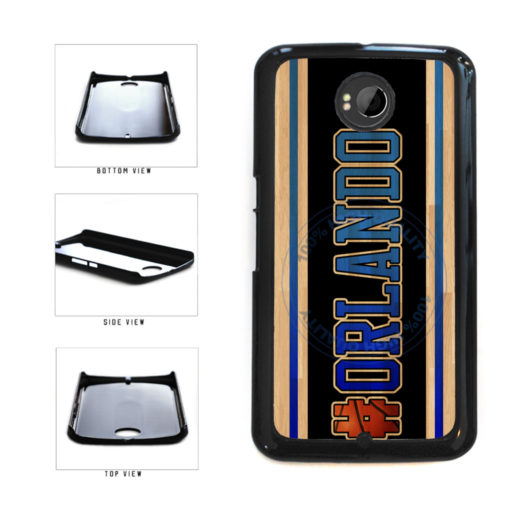 Basketball Team Hashtag Orlando #Orlando Plastic Phone Case Back Cover For Google Nexus 6 includes BleuReign(TM) Cloth and Warranty Label