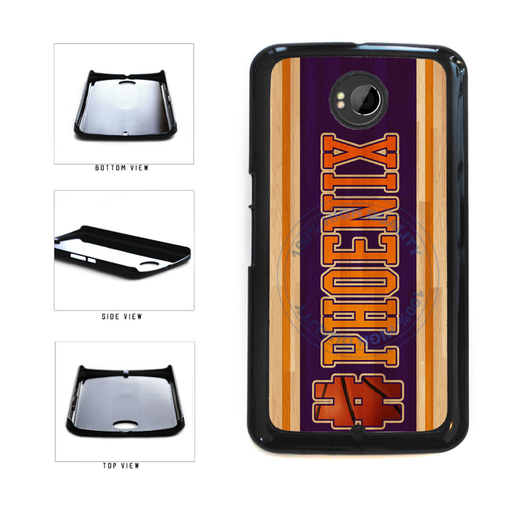 Basketball Team Hashtag Phoenix #Phoenix Plastic Phone Case Back Cover For Google Nexus 6 includes BleuReign(TM) Cloth and Warranty Label