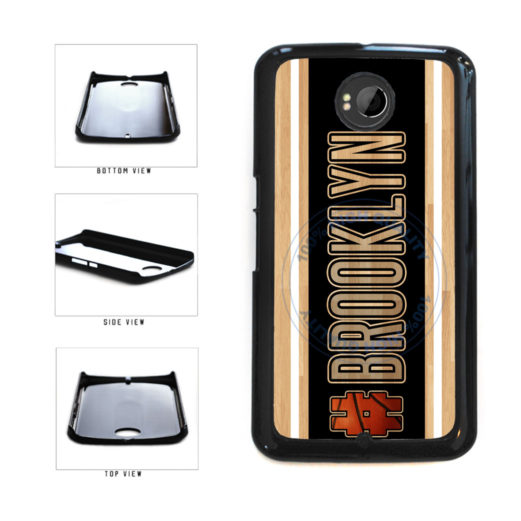 Basketball Team Hashtag Brooklyn #Brooklyn Plastic Phone Case Back Cover For Google Nexus 6 includes BleuReign(TM) Cloth and Warranty Label