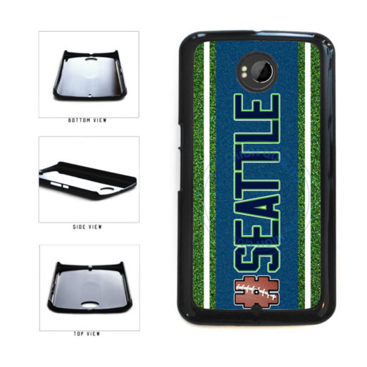 Hashtag Seattle #Seattle Football Team Plastic Phone Case Back Cover For Google Nexus 6 includes BleuReign(TM) Cloth and Warranty Label