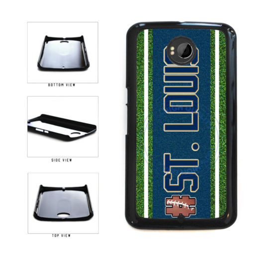 Hashtag St. Louis #StLouis Football Team Plastic Phone Case Back Cover For Google Nexus 6 includes BleuReign(TM) Cloth and Warranty Label