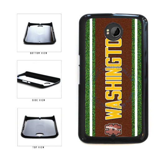 Hashtag Washington #Washington Football Team Plastic Phone Case Back Cover For Google Nexus 6 includes BleuReign(TM) Cloth and Warranty Label