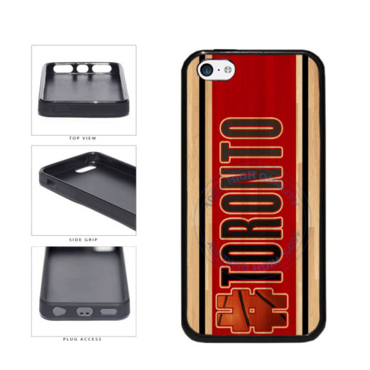 Basketball Team Hashtag Toronto #Toronto TPU Rubber SILICONE Phone Case Back Cover For Apple iPhone 5c includes BleuReign(TM) Cloth and Warranty Label