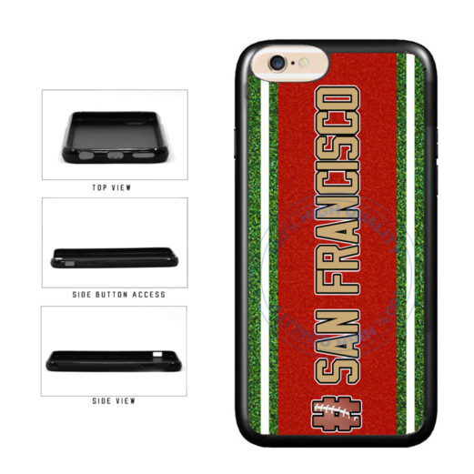 Hashtag San Francisco #SanFrancisco Football Team TPU Rubber SILICONE Phone Case Back Cover For Apple iPhone 6 Plus 6s Plus (5.5 Inches Screen) includes BleuReign(TM) Cloth and Warranty Label