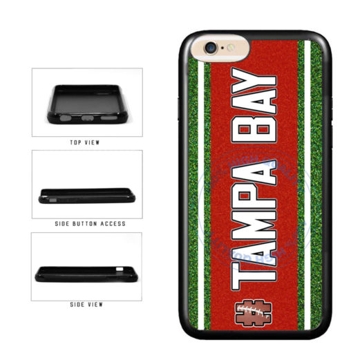 Hashtag Tampa Bay #TampaBay Football Team TPU Rubber SILICONE Phone Case Back Cover For Apple iPhone 6 6s (4.7 Inches Screen) includes BleuReign(TM) Cloth and Warranty Label