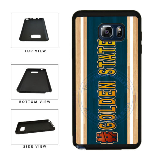 Basketball Team Hashtag Golden State #GoldenState TPU RUBBER SILICONE Phone Case Back Cover For Samsung Galaxy Note V 5 N920 includes BleuReign(TM) Cloth and Warranty Label