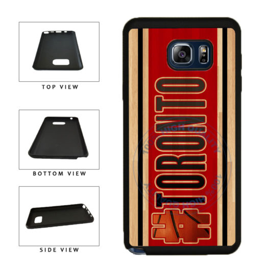 Basketball Team Hashtag Toronto #Toronto TPU RUBBER SILICONE Phone Case Back Cover For Samsung Galaxy Note V 5 N920 includes BleuReign(TM) Cloth and Warranty Label
