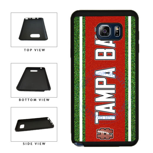 Hashtag Tampa Bay #TampaBay Football Team TPU RUBBER SILICONE Phone Case Back Cover For Samsung Galaxy Note V 5 N920 includes BleuReign(TM) Cloth and Warranty Label