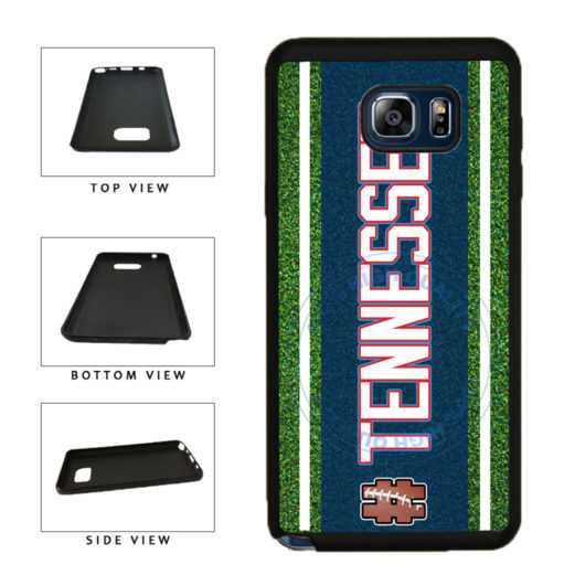 Hashtag Tennessee #Tennessee Football Team TPU RUBBER SILICONE Phone Case Back Cover For Samsung Galaxy Note V 5 N920 includes BleuReign(TM) Cloth and Warranty Label
