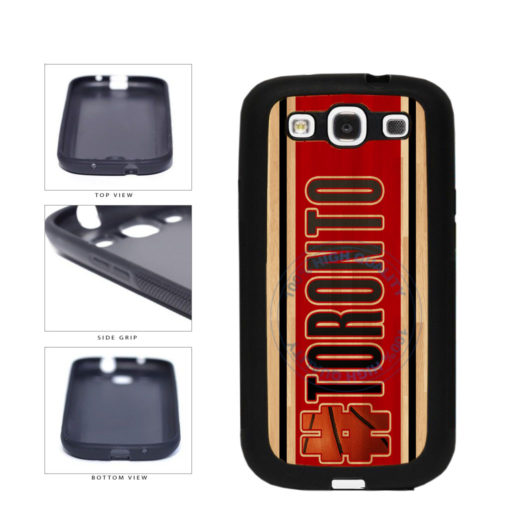 Basketball Team Hashtag Toronto #Toronto TPU Rubber SILICONE Phone Case Back Cover For Samsung Galaxy S3 I9300 includes BleuReign(TM) Cloth and Warranty Label