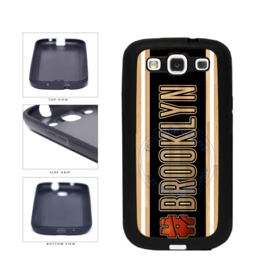 Basketball Team Hashtag Brooklyn #Brooklyn TPU Rubber SILICONE Phone Case Back Cover For Samsung Galaxy S3 I9300 includes BleuReign(TM) Cloth and Warranty Label
