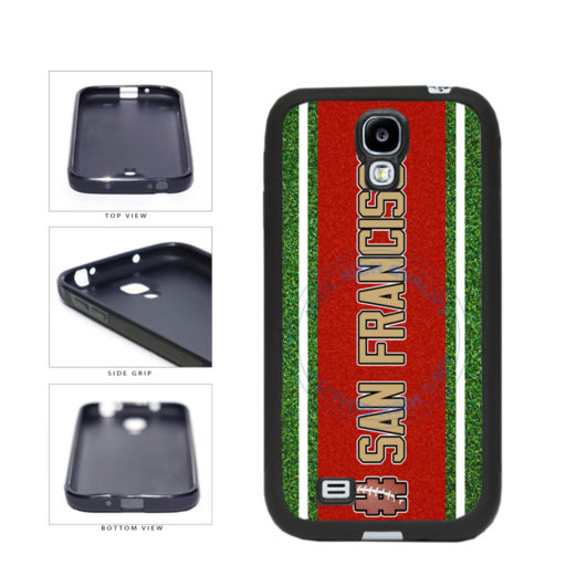 Hashtag San Francisco #SanFrancisco Football Team TPU Rubber SILICONE Phone Case Back Cover For Samsung Galaxy S4 I9500 includes BleuReign(TM) Cloth and Warranty Label