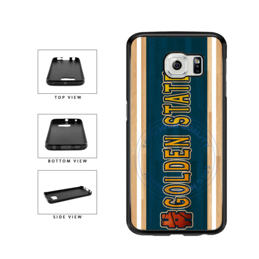 Basketball Team Hashtag Golden State #GoldenState TPU Rubber SILICONE Phone Case Back Cover For Samsung Galaxy S6 G920 includes BleuReign(TM) Cloth and Warranty Label