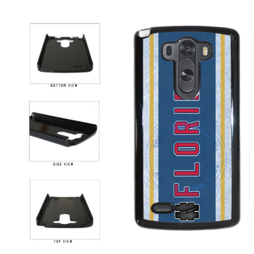 Hockey Team Hashtag Florida #Florida Plastic Phone Case Back Cover For LG G4 H815 includes BleuReign(TM) Cloth and Warranty Label