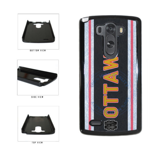 Hockey Team Hashtag Ottawa #Ottawa Plastic Phone Case Back Cover For LG G4 H815 includes BleuReign(TM) Cloth and Warranty Label
