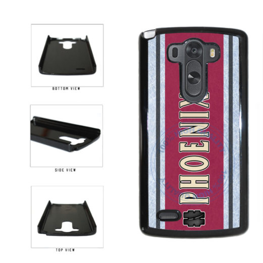 Hockey Team Hashtag Phoenix #Phoenix Plastic Phone Case Back Cover For LG G4 H815 includes BleuReign(TM) Cloth and Warranty Label