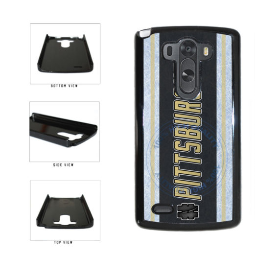 Hockey Team Hashtag Pittsburgh #Pittsburgh Plastic Phone Case Back Cover For LG G4 H815 includes BleuReign(TM) Cloth and Warranty Label