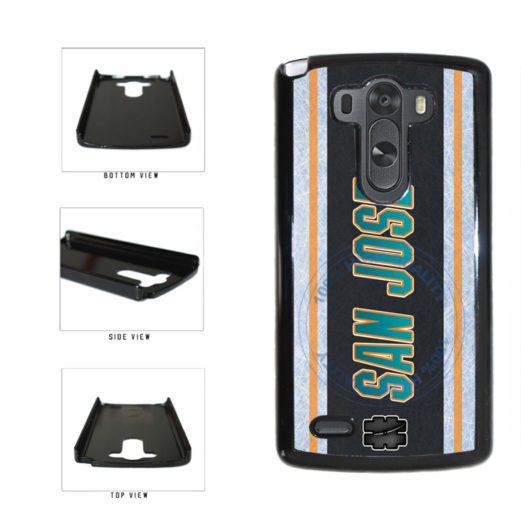 Hockey Team Hashtag San Jose #SanJose Plastic Phone Case Back Cover For LG G4 H815 includes BleuReign(TM) Cloth and Warranty Label