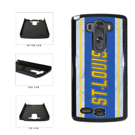 Hockey Team Hashtag St Louis #StLouis Plastic Phone Case Back Cover For LG G4 H815 includes BleuReign(TM) Cloth and Warranty Label