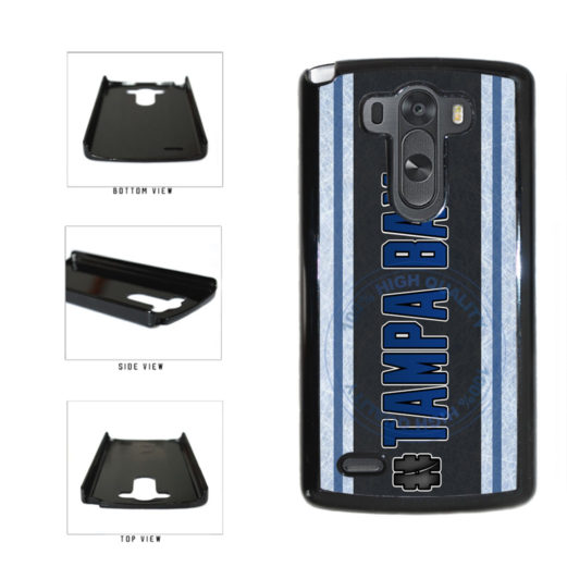 Hockey Team Hashtag Tampa Bay #TampaBay Plastic Phone Case Back Cover For LG G4 H815 includes BleuReign(TM) Cloth and Warranty Label