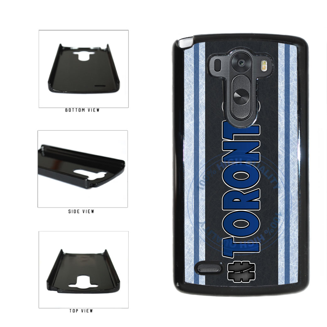 Hockey Team Hashtag Toronto #Toronto Plastic Phone Case Back Cover For LG G4 H815 includes BleuReign(TM) Cloth and Warranty Label