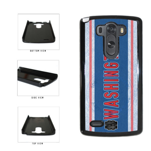 Hockey Team Hashtag Washington #Washington Plastic Phone Case Back Cover For LG G4 H815 includes BleuReign(TM) Cloth and Warranty Label