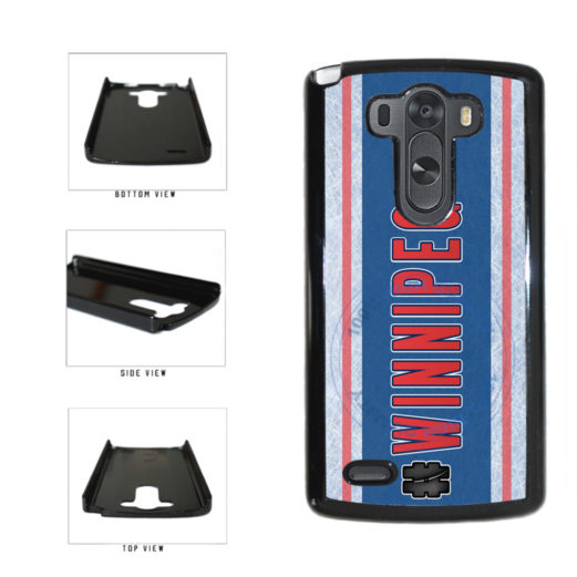 Hockey Team Hashtag Winnipeg #Winnipeg Plastic Phone Case Back Cover For LG G4 H815 includes BleuReign(TM) Cloth and Warranty Label