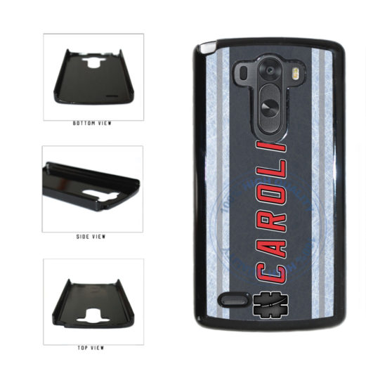 Hockey Team Hashtag Carolina #Carolina Plastic Phone Case Back Cover For LG G4 H815 includes BleuReign(TM) Cloth and Warranty Label