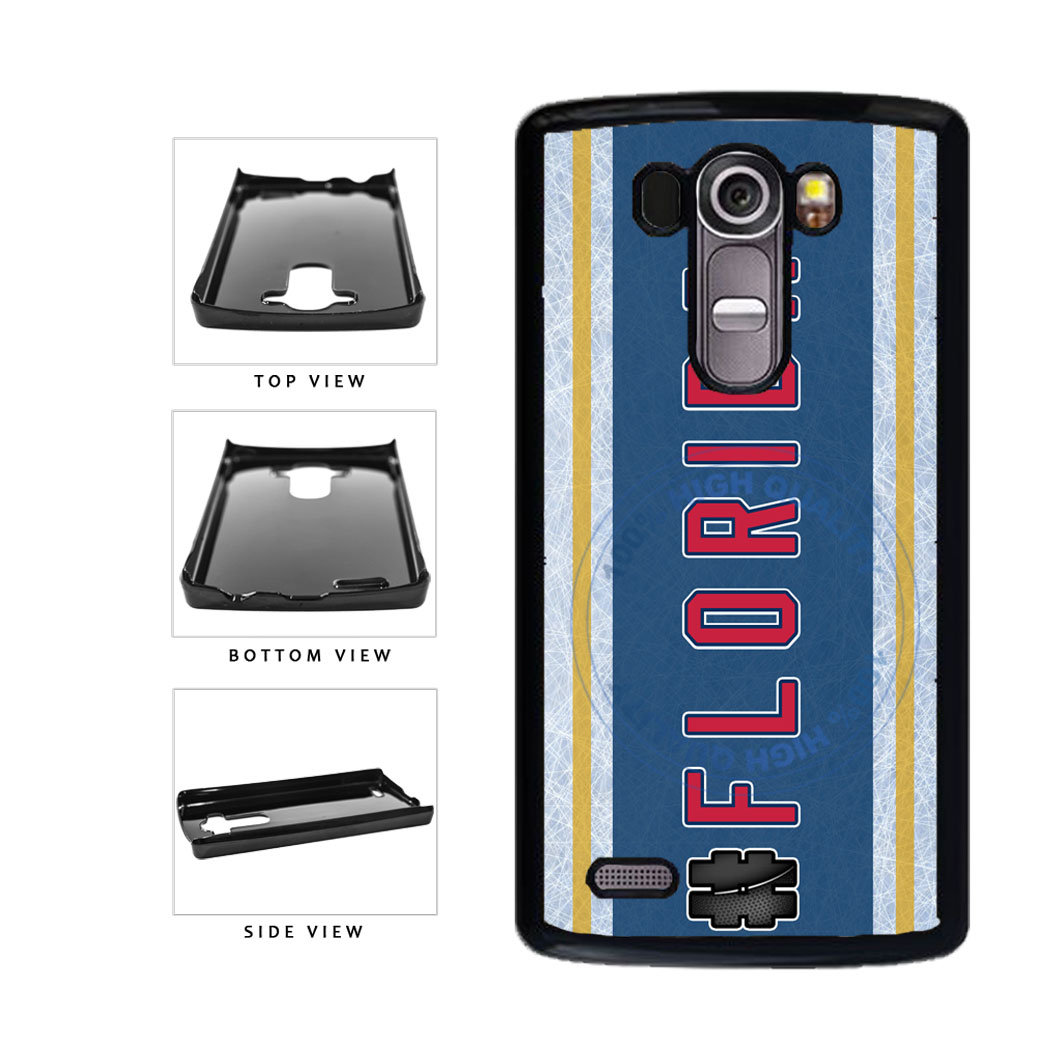 Hockey Team Hashtag Florida #Florida Plastic Phone Case Back Cover For LG G3 D855 includes BleuReign(TM) Cloth and Warranty Label
