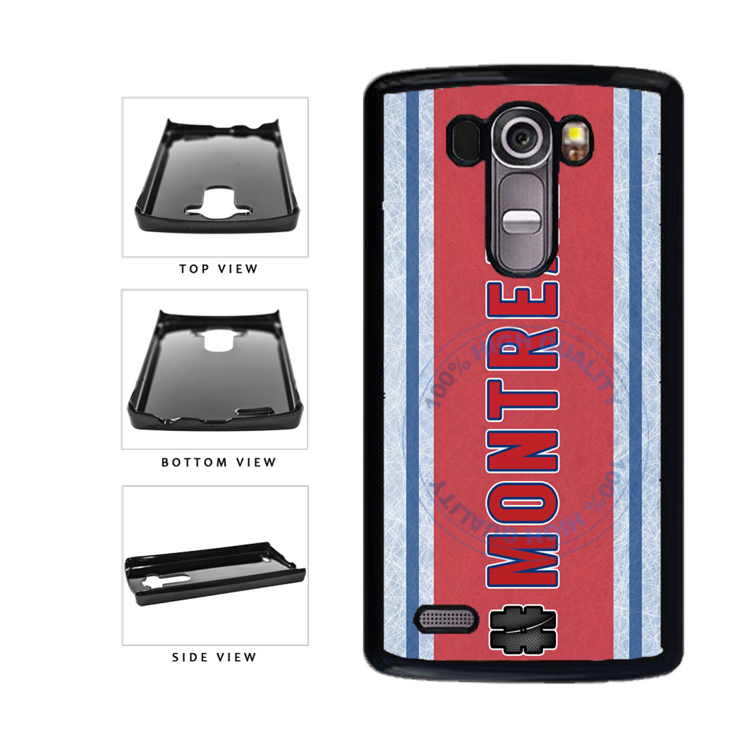 Hockey Team Hashtag Montreal #Montreal Plastic Phone Case Back Cover For LG G3 D855 includes BleuReign(TM) Cloth and Warranty Label