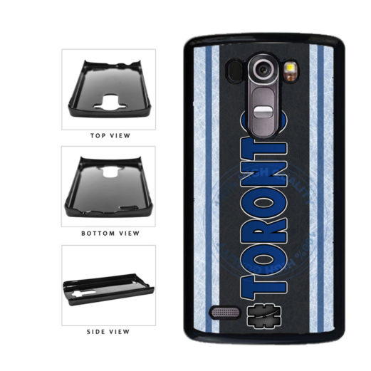 Hockey Team Hashtag Toronto #Toronto Plastic Phone Case Back Cover For LG G3 D855 includes BleuReign(TM) Cloth and Warranty Label